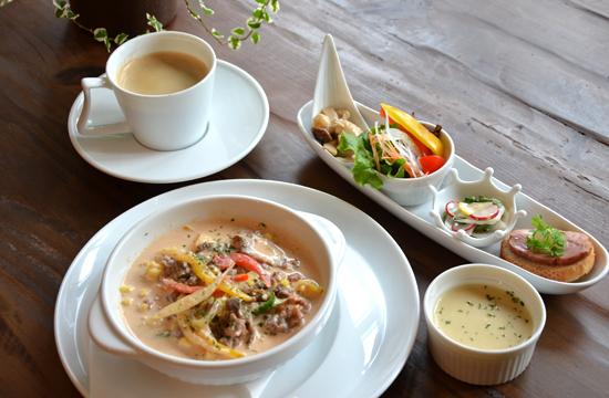 12/2(火)~ cote cafeランチ